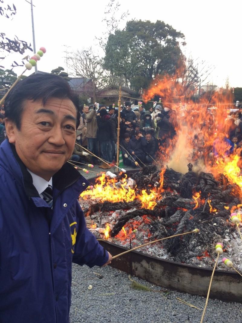20170114 白旗神社左義長神事_170115_0003